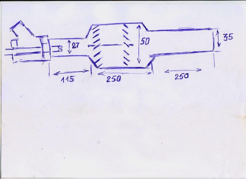 Горелка для газового горна чертеж